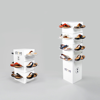 Strive Footwear Display Stand